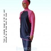 ImaneDesign_Burkini_Burqini_Islamic_swimsuit_Alsharifa_LAGUNA_Zwempak_Gray_Pink_letters
